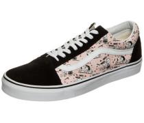 Old Skool x Peanuts Sneaker rosa / schwarz