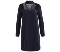Feminines Spitzen-Kleid nachtblau