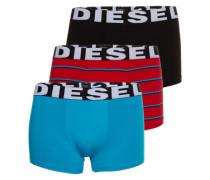 Pants im 3er-Pack 'Shawn' blau / mischfarben / schwarz