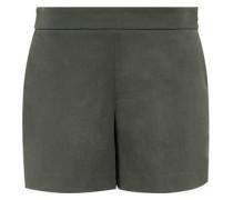 Shorts mit schrägen Taschen grün