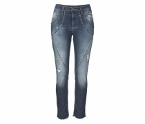 Jeans Boyfriend-Jeans »P91F« blue denim