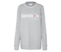 Sweatshirt 'F Iconic Crew' graumeliert