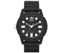 Armbanduhr 'adh-1969 Adh3101' schwarz / weiß