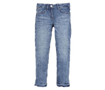Suri: Stretch-Jeans mit Waschung blue denim