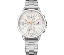 Multifunktionsuhr 'Casual Sport 1781787' silber