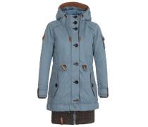 Female Jacket Langes Fädchen Faules Mädchen blau
