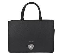 Handtasche mit Schulterriemen-Auswahl schwarz