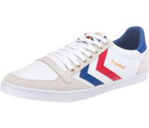 Slimmer Stadil Low Sneakers weiß