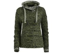 Pullover 'zelda' grün / schwarz