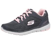 Sneaker rosa / dunkelgrau