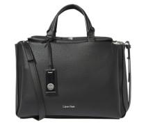 Duffle-Bag in Leder-Optik 'Carrie' schwarz
