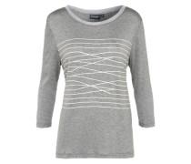 T-Shirt 'Marleen' graumeliert