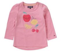 Langarmshirt für Mädchen Organic Cotton rosa