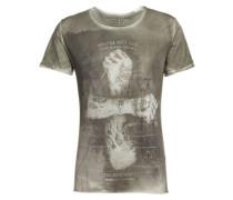 Shirt 'MT Doubt round' khaki