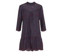 Kleid 'viritta' navy / weinrot