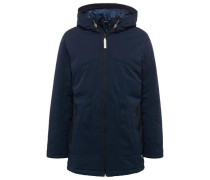 Jacket Parka aus Softshell navy