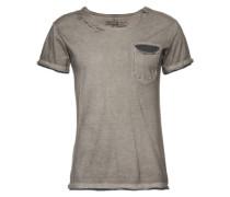 Jerseyshirt silbergrau
