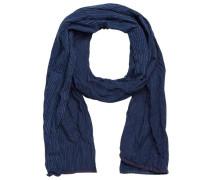 Stoff-Schal blau