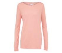 'Super triangle' Casual Shirt rosa / weiß