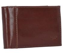 Bern Geldbörse Leder 105 cm braun