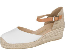 Cisca Sandaletten weiß