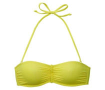 "Bandeau-Top ""Happy"" gelb"