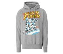 "Kapuzen-Sweatshirt ""Silver Surfer"" grau"