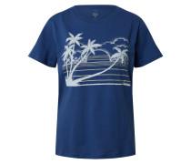 Shirt 'take me back' blau
