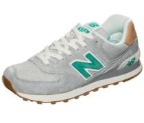 Sneaker 'wl574 B' grau / jade
