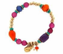 Armband »Snail 6318« türkis / gold