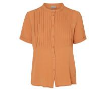 2/4-ärmelige Bluse orange