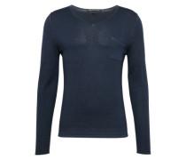 Pullover mit V-Ausschnitt 'Rafal' dunkelblau