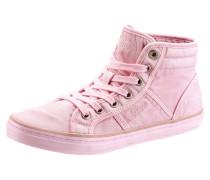 Schnürboots rosa