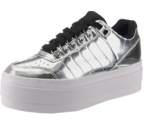 Platform Sneakers 'Gstaad' silber