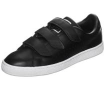 'Basket Classic Strap B&w' Sneaker schwarz / weiß