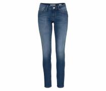 Jeans Skinny-fit-Jeans 'serena' dunkelblau