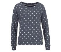 Sweatshirt Dot blau