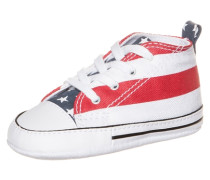 Chuck Taylor First Star High Sneaker Kinder rot