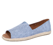 Espadrilles 'Alpargata Open Toe' blue denim