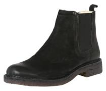 Chelsea Boot im Used-Look schwarz