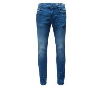 5-Pocket Jeans 'skinny' blau