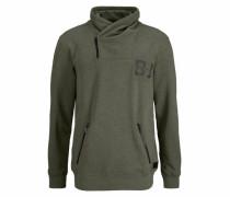 Sweatshirt khaki / oliv