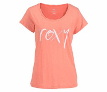 T-Shirt koralle / weiß