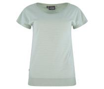 Shirt 'Derry' weiß / mint