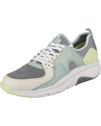 Sneakers grau / mint / apfel / weiß