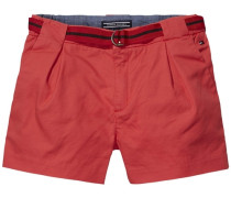 Short »Sunset Twill Short« rot