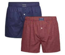 Boxershorts (2 Stück) blau / rot