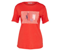 Casual T-Shirt orangerot