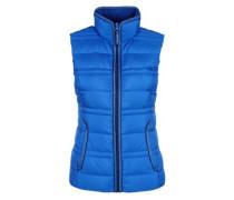 Sportive Daunen-Steppweste blau