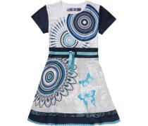 Kinder Jerseykleid weiß